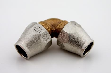 VVエルボ(ビニル管とビニル管を接続)