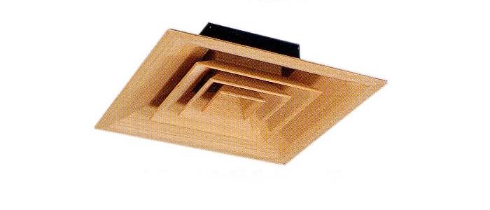 角型シーリングディフューザー