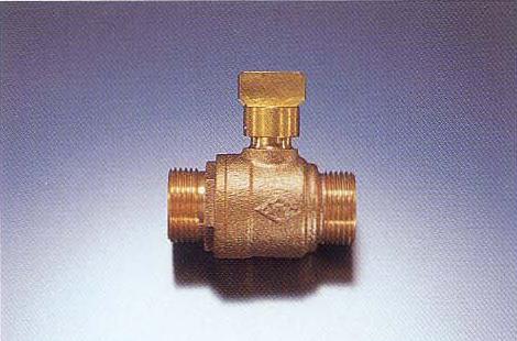 乙型ボール止水栓