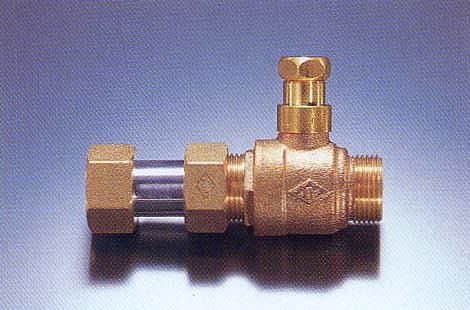 伸縮式ボール止水栓(盗水防止型)